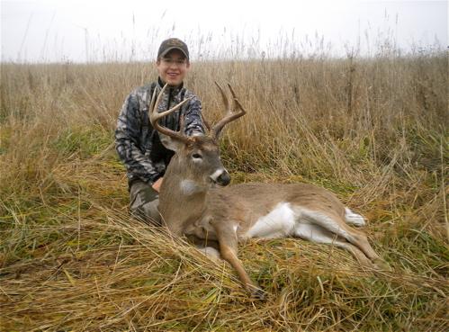 Blood-trailing-a-deer