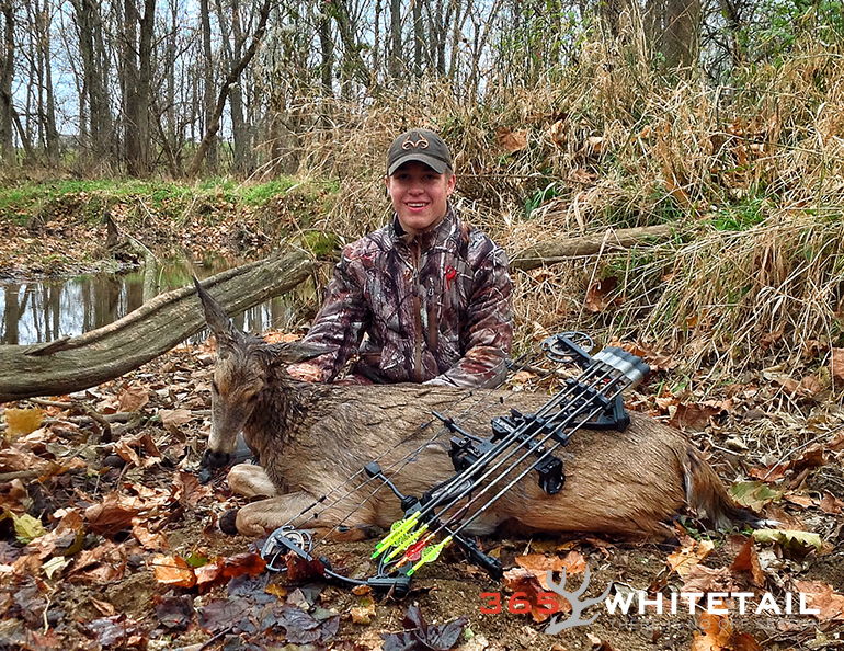 Bowhunting whitetail