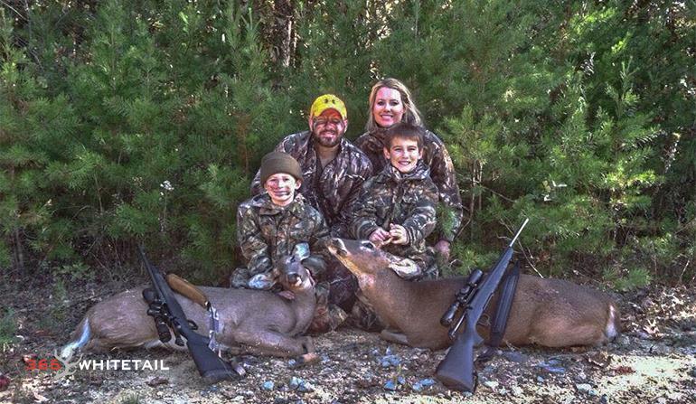 Cam Hanes family
