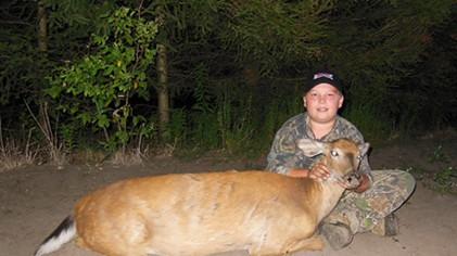 First Deer Of The 2013 Season