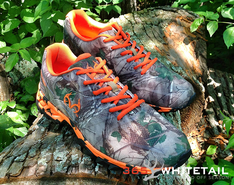 Realtree Girl by Duckhead Mamba Camo Shoe - Orange/Xtra Green - 6.5