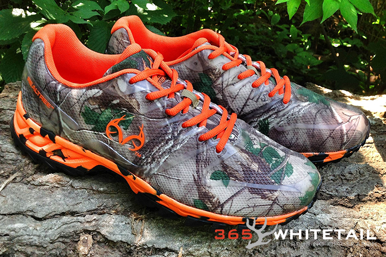REALTREE CAMO TENNIS SHOES on The Hunt