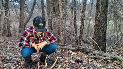Shed Hunting With Kids: Five Tips