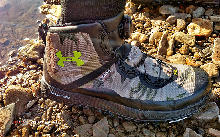 Under Armour Fat Tire GTX Trail Running Shoe 365 Whitetail  365 Whitetail