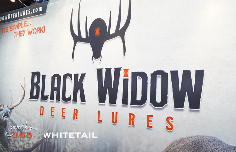 black widow deer lures ata show 2015