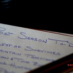 bowhunters post season to do list